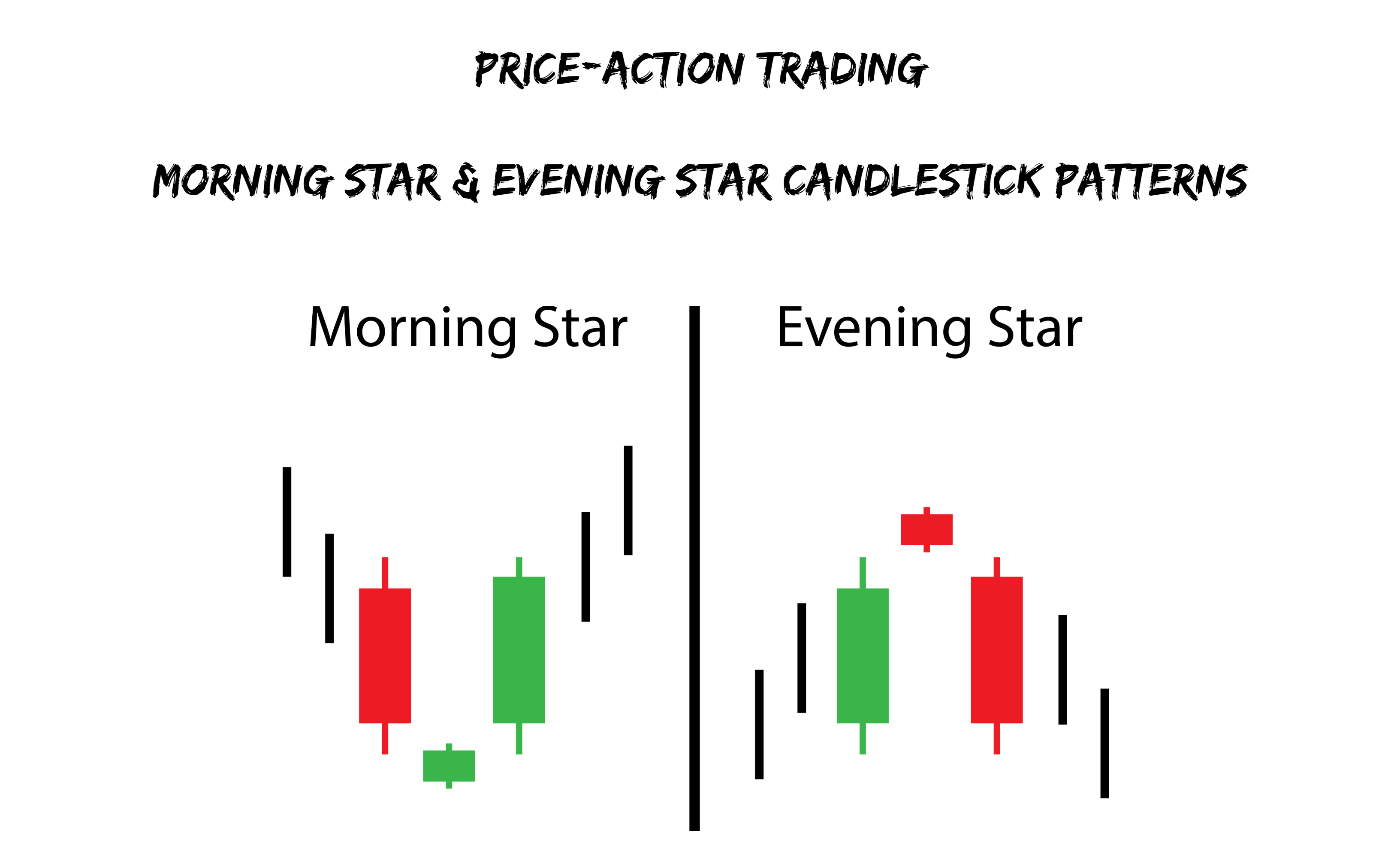 Morning star candle